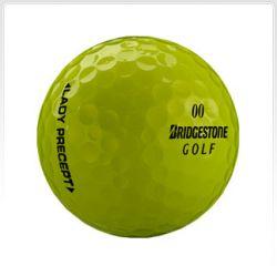 Bridgestone Lady Precept Yellow Used Golf Balls