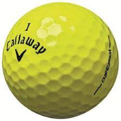 Callaway Yellow Mix Grade A Used Golf Balls