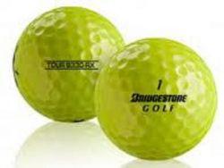 Bridgestone B330 RX Yellow Used Golf Balls