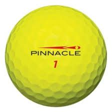 50 Pinnacle Gold Yellow Used Golf Balls