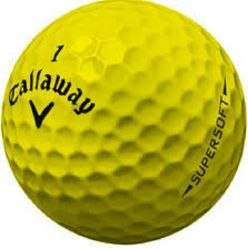 Callaway Supersoft Yellow Used Golf Balls