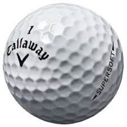 Callaway Supersoft Used Golf Balls