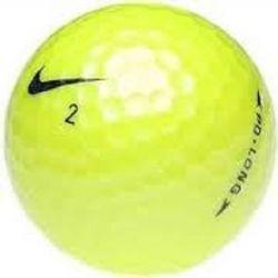 Nike PD Long Yellow Used Golf Balls