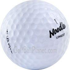 Maxfli Noodle Used Golf Balls   Discount Golf Balls