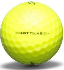 Titleist NXT Tour S 2016 Yellow Used Golf Balls | Wholesale
