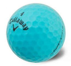 Callaway Supersoft Blue Used Golf Balls