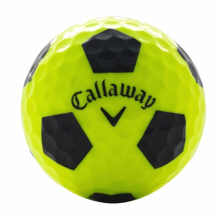 Callaway Chrome Soft X Yellow Used Golf Ball