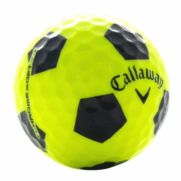 Callaway 2 Chrome Soft X Yellow Used Golf Ball