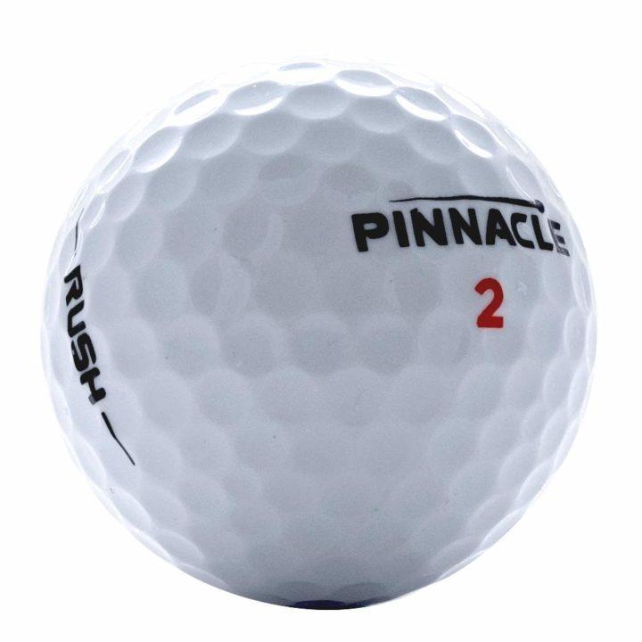 Pinnacle rush used golf balls