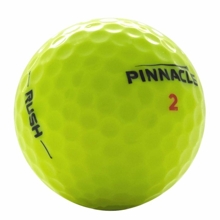 pinnacle rush yellow used golf balls