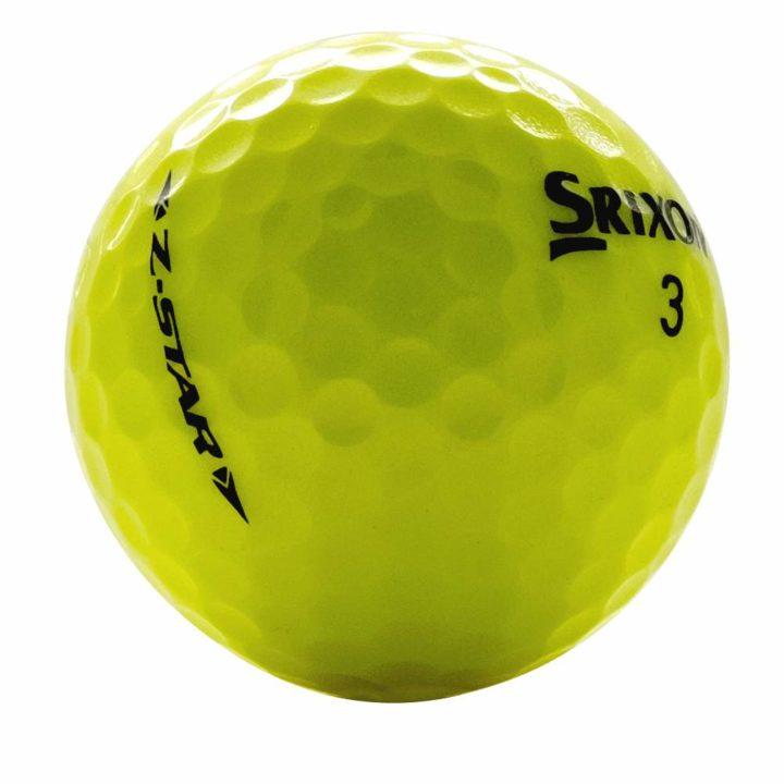Srixon Z Star Yellow Used Golf Balls