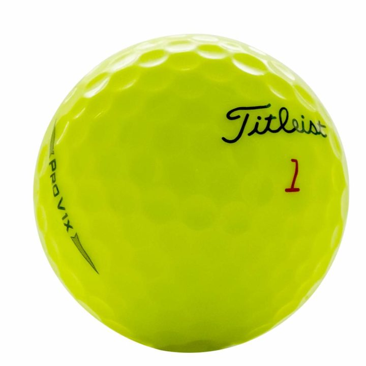 Titleist ProV1x yellow used golf balls