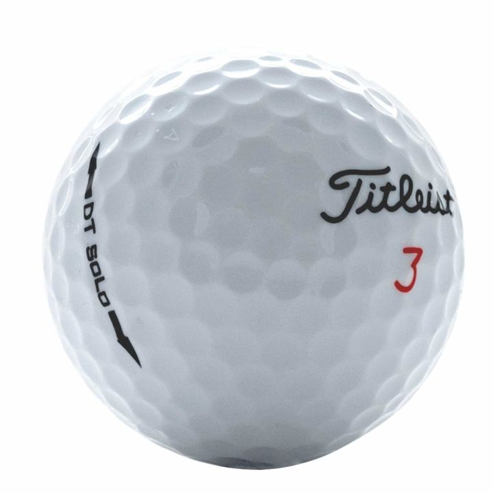 Titleist DT Solo Used Golf Balls