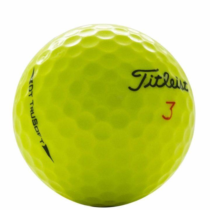 Titleist DT TruSoft Yellow Used Golf Balls