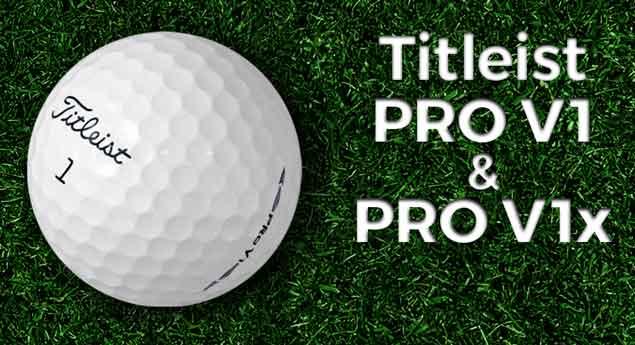 Used Pro V1 & Pro V1x Golf Balls