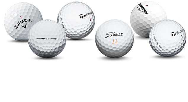 Used golf ball brands
