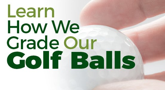Used golf ball grades
