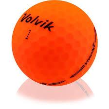 used green volvik golf balls